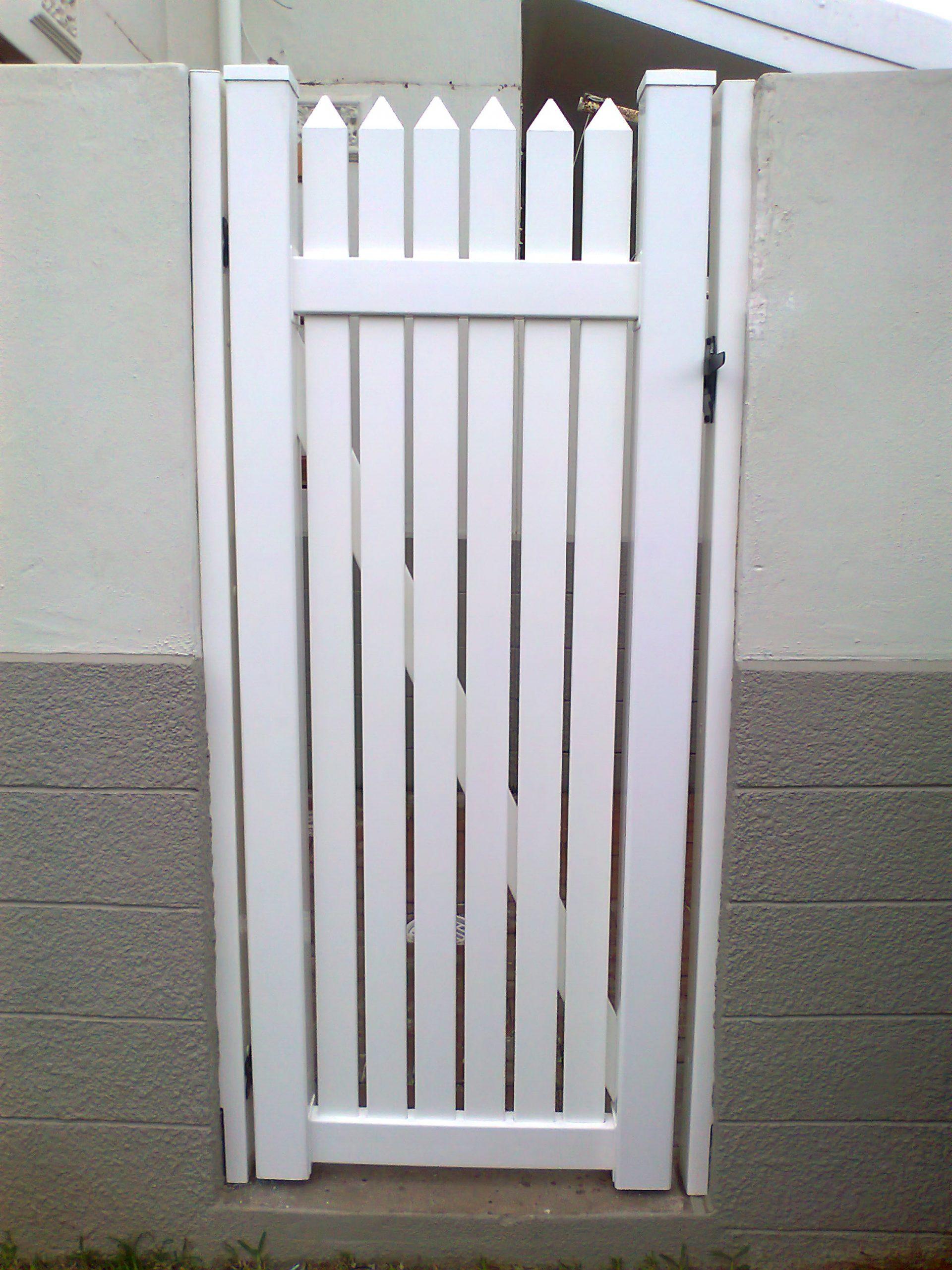 3Slatted door